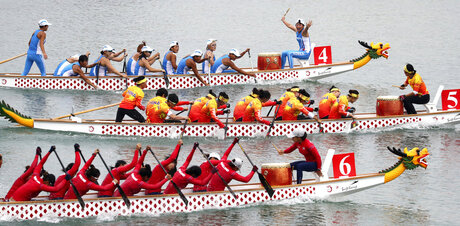 Indonesia Asian Games Dragon Boat