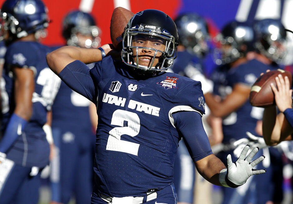 Utah St New Mexico St Arizona Bowl Football