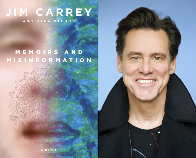 This combination photo shows the cover of