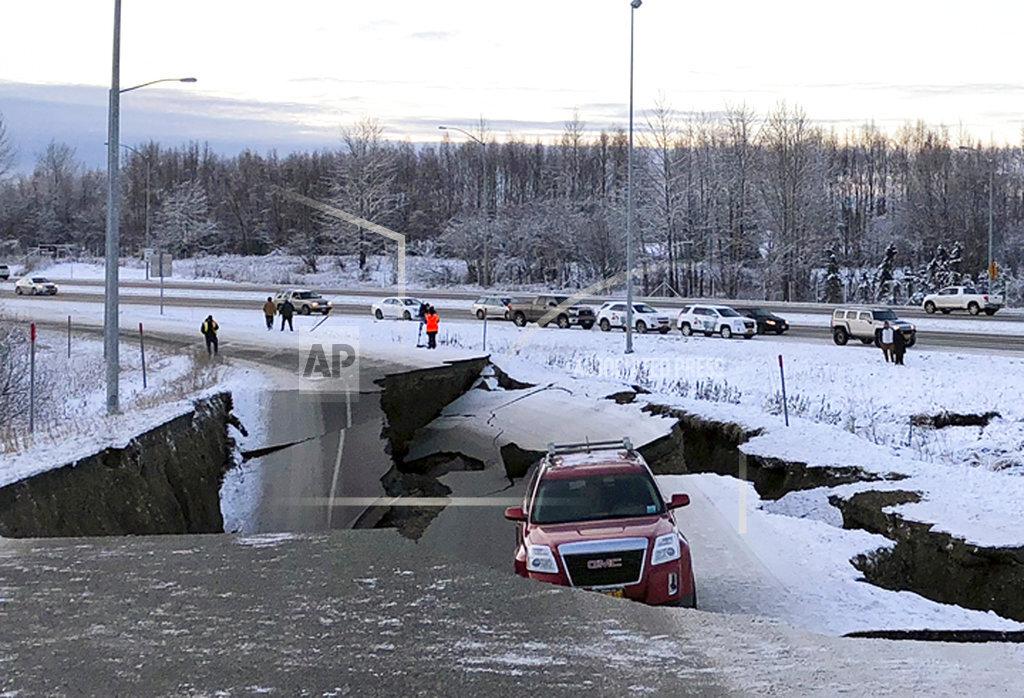 Earthquake Alaska Ramp Rebuilt