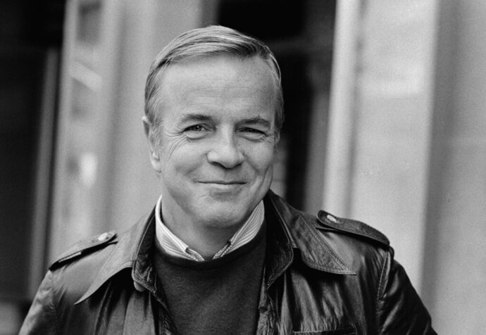 FILE - Franco Zeffirelli, seen in New York, in this Oct. 31, 1974 file photo. Italian film director Franzo Zeffirelli has died in Rome at the age of 96. Zefffirelli's son Luciano said his father died at home on Saturday at noon. (AP Photo/Jerry Mosey, File)