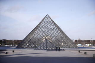 APTOPIX France Louvre Shooting