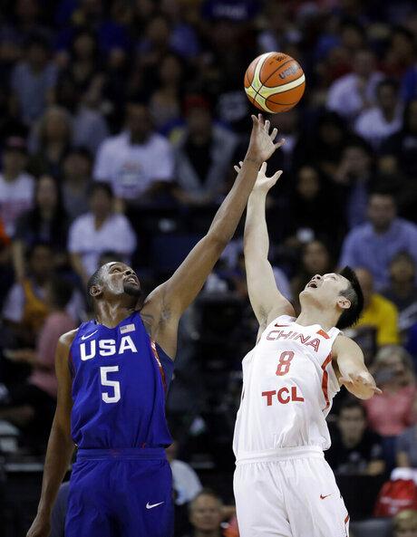 Kevin Durant, Ding Yanyuhang