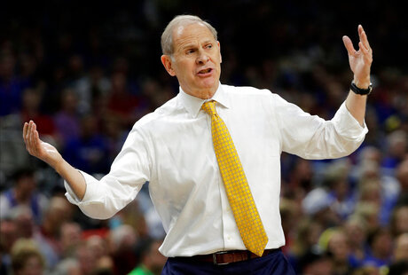 Michigan Beilein Back Basketball