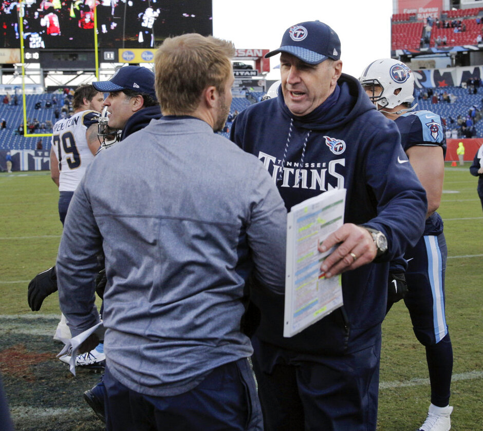 Mike Mularkey, Sean McVay