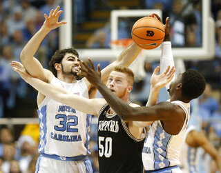 Wofford North Carolina Basketball