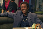 This image released by Showtime shows Don Cheadle in a scene from