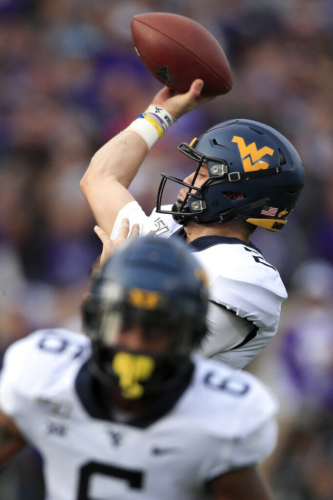 QB Jarret Doege gives WVU hopes for bowl berth