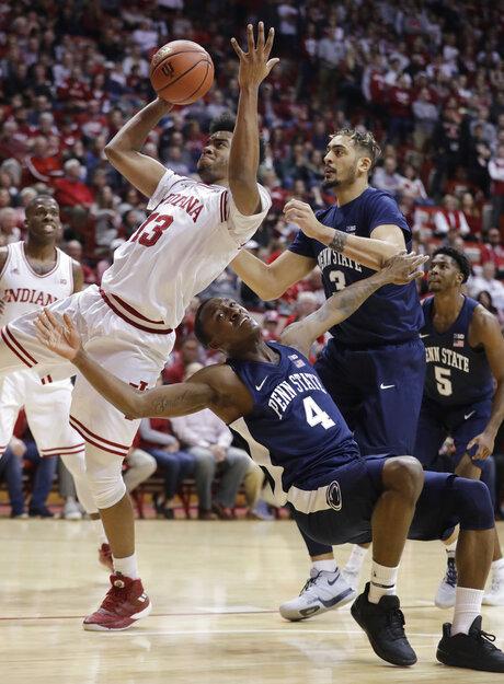 APTOPIX Penn St Indiana Basketball