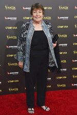 "FILE - In this Jan. 31, 2015, file photo, Australian-born singer Helen Reddy attends the 2015 G'DAY USA GALA at the Hollywood Palladium in Los Angeles. Reddy, who shot to stardom in the 1970s with her feminist anthem ""I Am Woman"" and recorded a string of other hits, has died at age 78. Reddy's children Traci and Jordan announced that the actress-singer died Tuesday, Sept. 29, 2020, in Los Angeles. (Photo by Rob Latour/Invision/AP, File)"