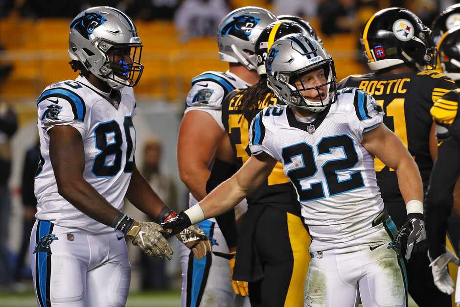 Panthers Steelers Football