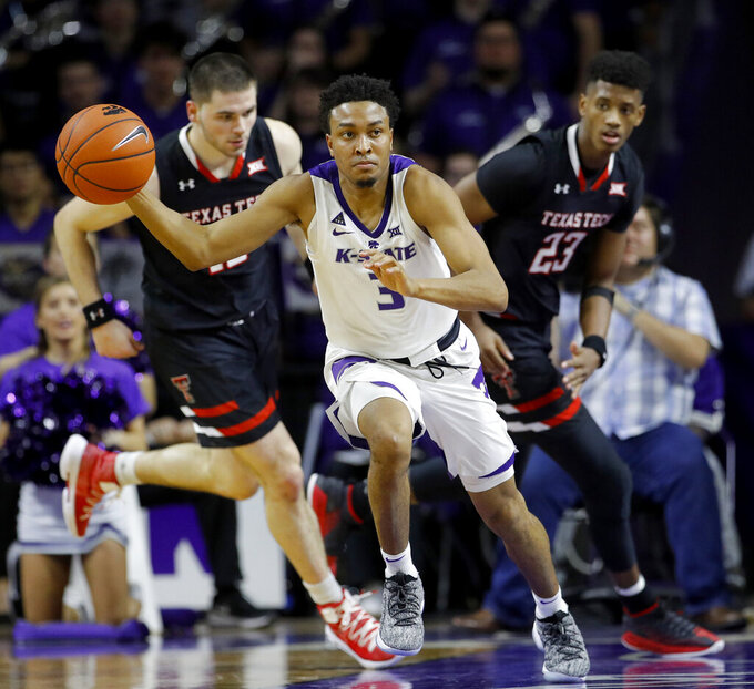 K-State's defense stifles No. 14 Texas Tech in 58-45 win