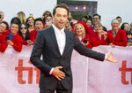 Actor Matthew Rhys arrives for the Gala Premiere of the film