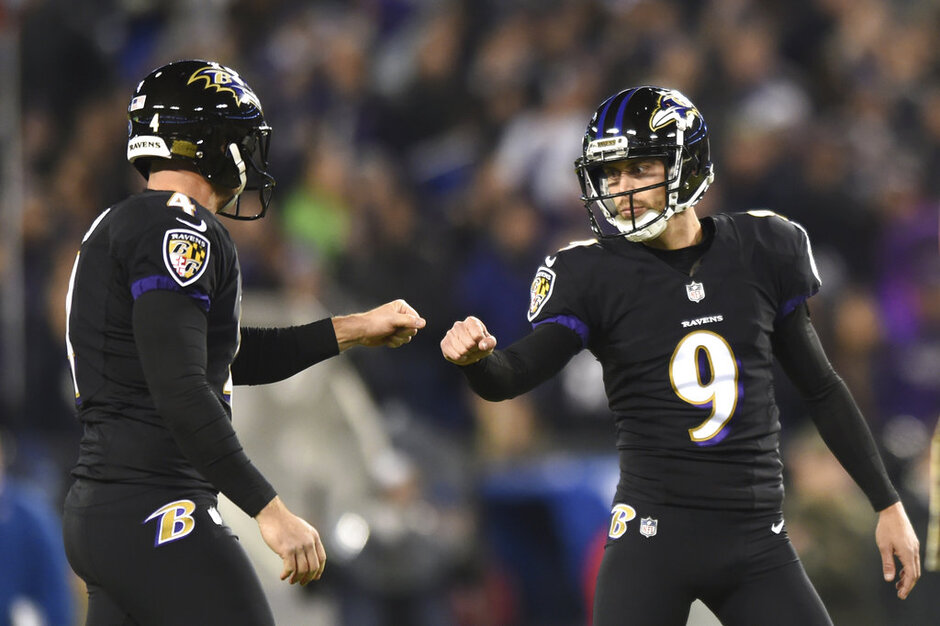 Justin Tucker, Sam Koch