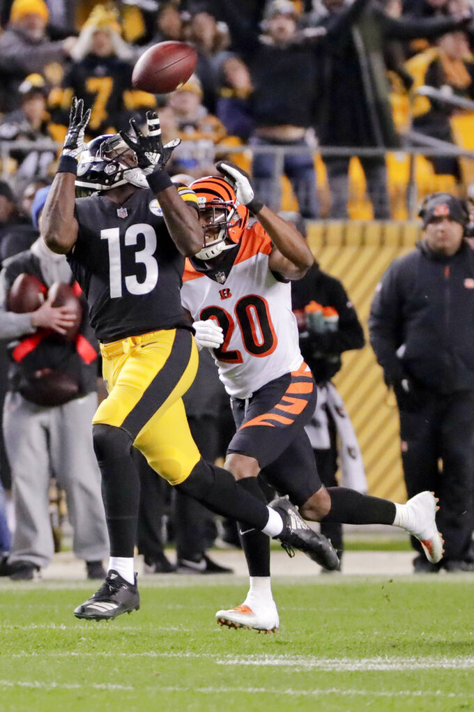 Cincinnati Bengals at Pittsburgh Steelers 12/30/2018
