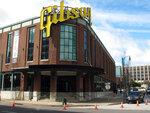 The former Gibson Guitar factory sits empty in downtown Memphis, Tenn., Tuesday, Feb. 19, 2019. FedEx Logistics announced Tuesday, it is establishing a new headquarters in the building. (AP Photo/Adrian Sainz)