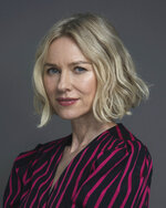 """This June 17, 2019 photo, actress Naomi Watts poses for a portrait in New York. Watts stars in the film """"Ophelia,"""" and the Showtime series """"The Loudest Voice,"""" based on the rise of Fox News and fall of Roger Ailes. (Photo by Christopher Smith/Invision/AP)"""