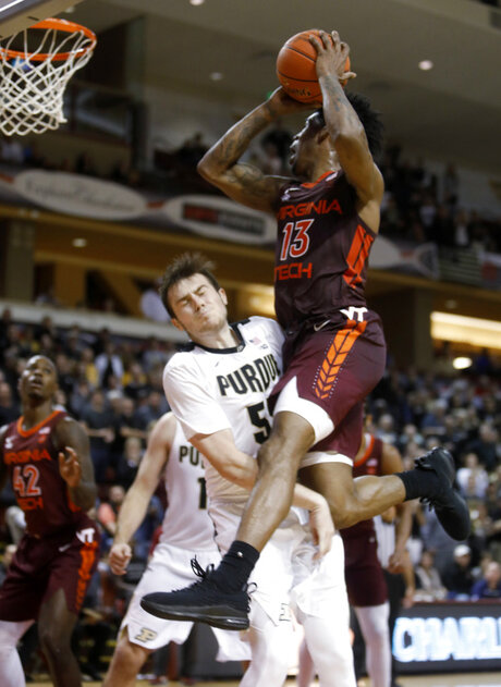 Purdue Virginia Tech Basketball