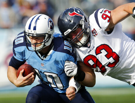 Jake Locker, Jared Crick