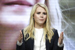 FILE - In this July 28, 2017 file photo, Elizabeth Smart attends the