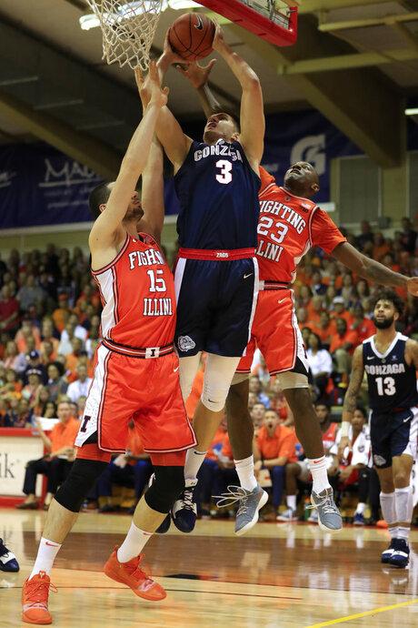Gonzaga Illnois Basketball