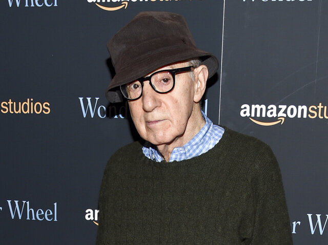 FILE - In this Nov. 14, 2017 file photo, director Woody Allen attends a special screening of