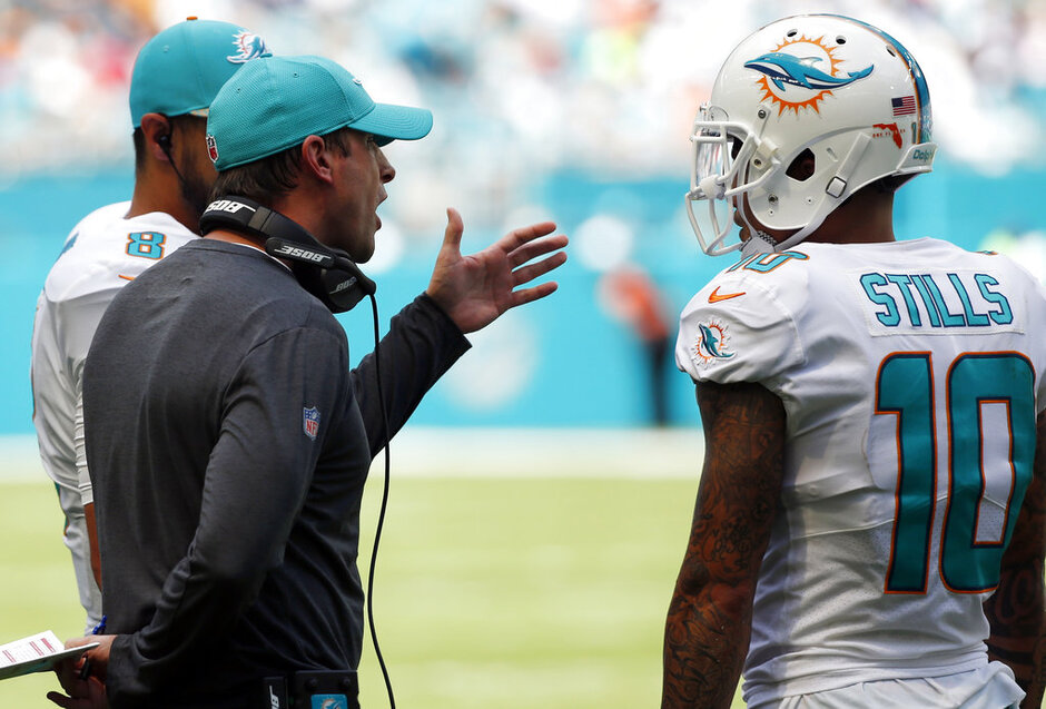 Adam Gase, Kenny Stills