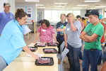 John de la Howe campers learn about different cuts of beef from teacher Libby Templeton, left. (Lindsey Hodges/The Index-Journal via AP)