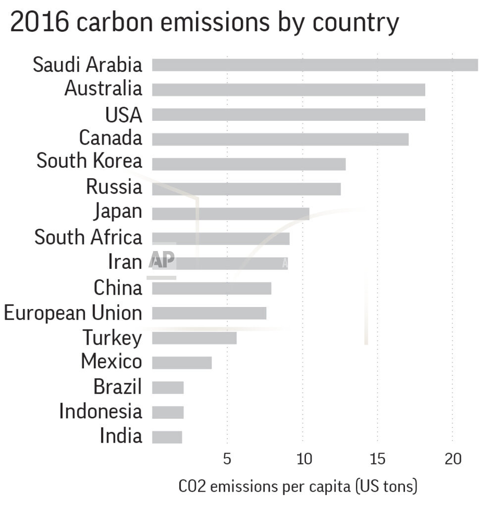 Global carbon pollution rises after 3 straight flat years
