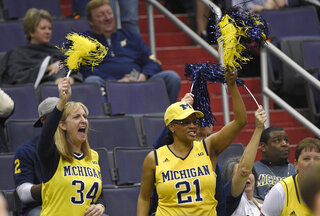 B10 Illinois Michigan Basketball