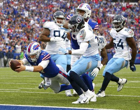 Titans Bills Football