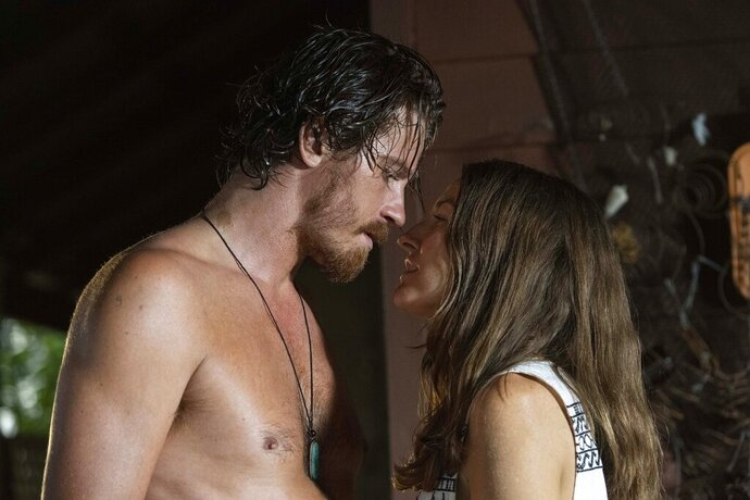 This image released by Samuel Goldwyn Films shows Garrett Hedlund, left, and Kelly Macdonald in a scene from