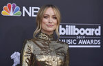 Olivia Wilde arrives at the Billboard Music Awards on Wednesday, May 1, 2019, at the MGM Grand Garden Arena in Las Vegas. (Photo by Richard Shotwell/Invision/AP)