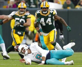APTOPIX Dolphins Packers Football