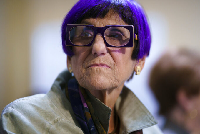 House Appropriations Committee Chair Rosa DeLauro, D-Conn., fields questions about the politics of the federal debt in front of the House Rules Committee at the Capitol in Washington, Tuesday, Sept. 21, 2021. (AP Photo/J. Scott Applewhite)