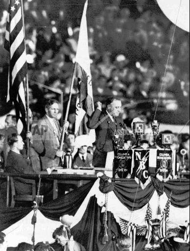 Associated Press Domestic News Illinois United States National political conventions DNC FRANKLIN ROOSEVELT