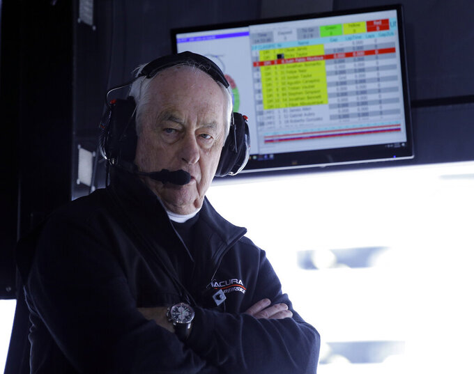 Roger Penske caps banner season with NASCAR Hall induction
