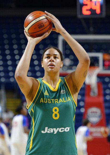 Australia Cambage Basketball
