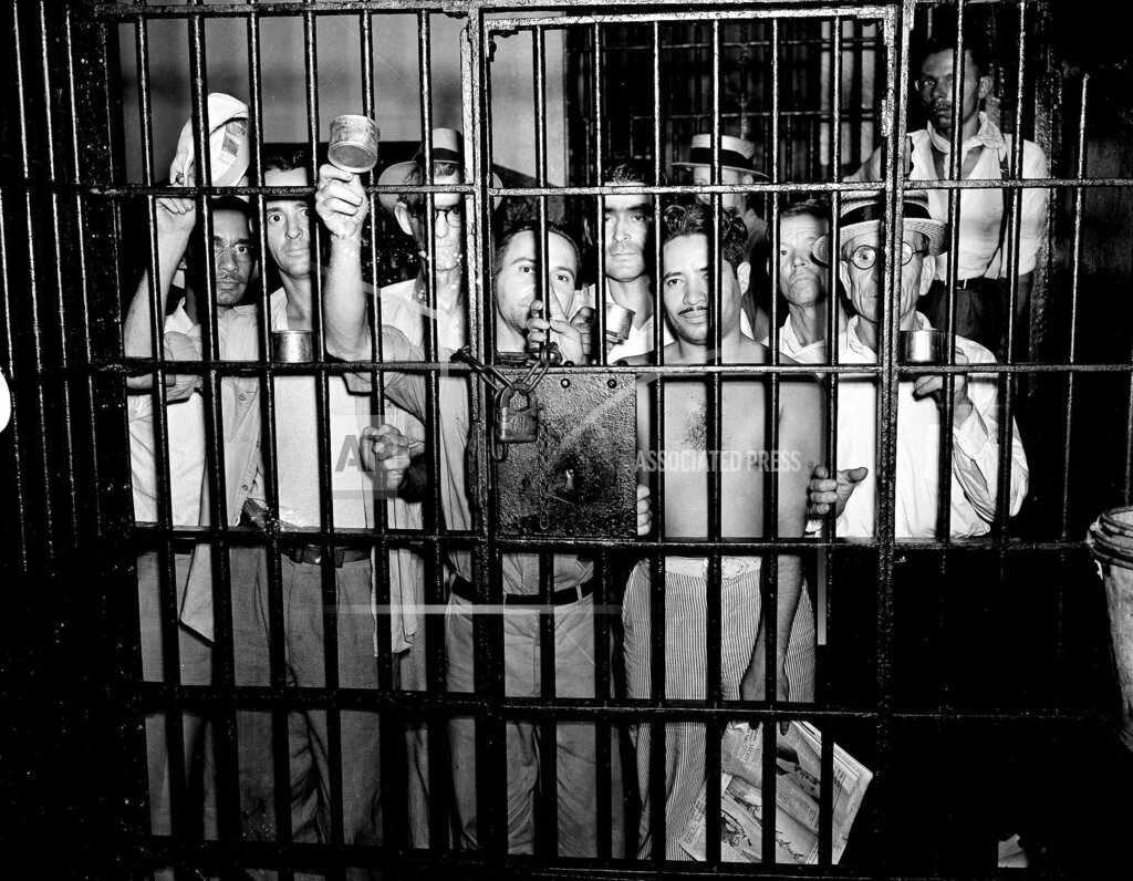 Watchf AP A  LA USA APHS162765 Maritime Union Workers Jailed