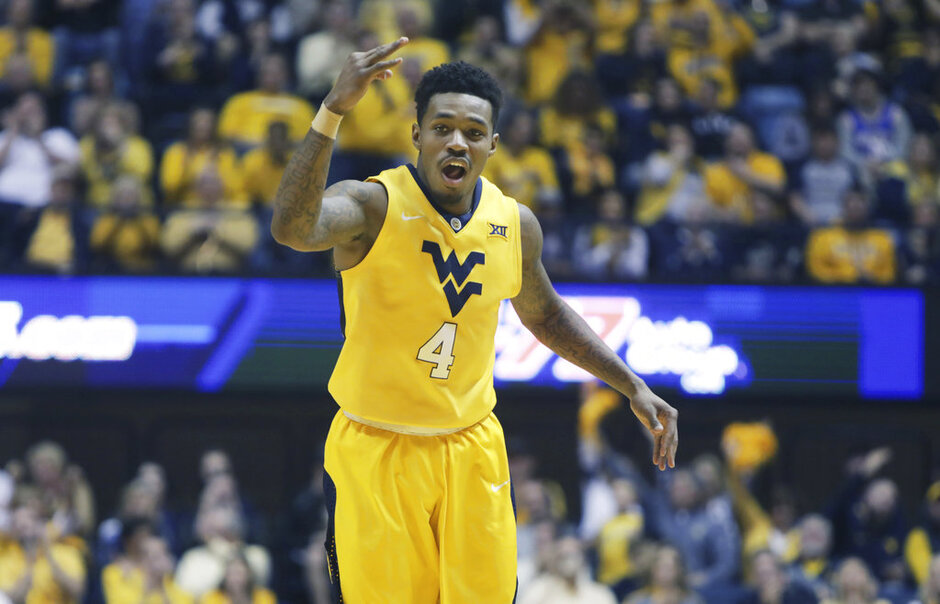 Texas West Virginia Basketball