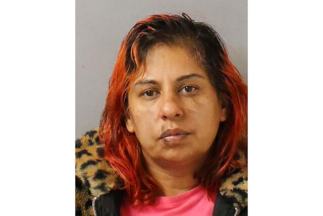 This undated photo provided by Metro Nashville Police Department shows Zohal Sakwall. Police say Zohal Sakwall, 40, called the Metro Nashville Police Department and admitted to killing her 4-month-old daughter, Natalie, in June 2010. (Metro Nashville Police Department via AP)