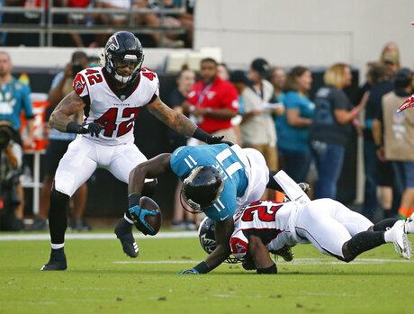 Falcons Jaguars Football