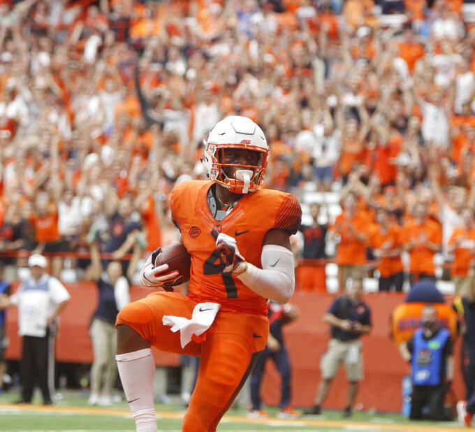 Syracuse on a roll in third season under coach Dino Babers