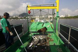 Brazil OLY Garbage Barges