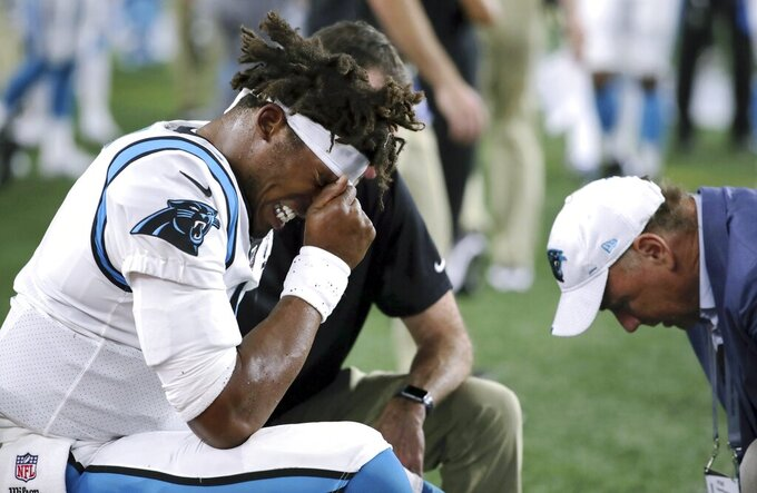 Rivera has no doubt Cam Newton will play in Panthers' opener