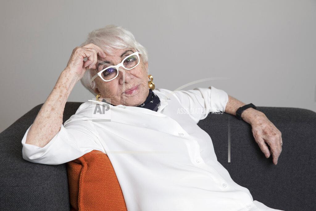 Lina Wertmuller Portrait Session