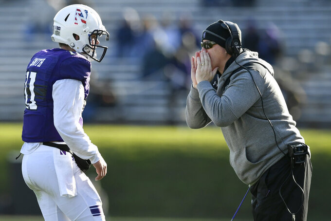 Northwestern hosts UMass, eager to end 7-game slide