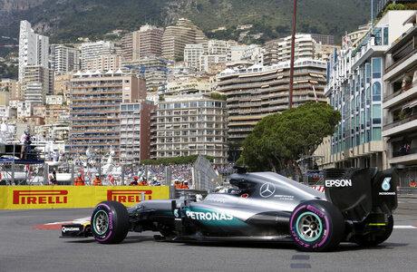 Monaco F1 GP Auto Racing