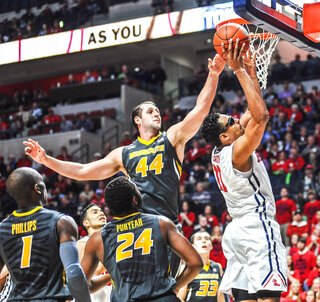 Missouri Mississippi Basketball