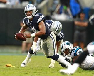 Cowboys No Passing Zone Football